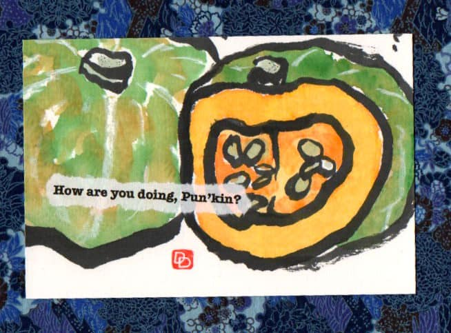 Pumpkin by dosankodebbie - An Introduction to the Art of Etegami